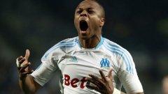 """Ганаецът Андре Аю, син на легендата на Олимпик Абеди Пеле, вкара победния гол в """"Льо Класик"""""""