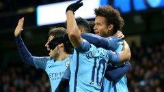 Сити изпусна два гола аванс срещу Тотнъм