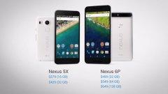 Новите Nexus смартфони