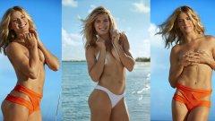 """След изпепеляващо горещата фотосесия за списание """"Sports Illustrated"""" отново си дадохме сметка, че дори повече никога да не хване ракета, канадката има потенциала да направи страхотна кариера като модел."""