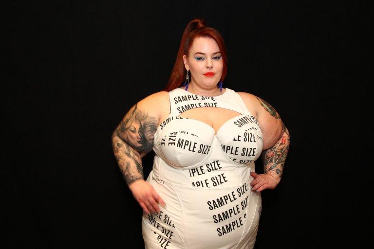 Plus-size моделът Тес Холидей