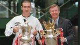 Ерик Кантона спечели четири титли на Висшата лига и на два пъти и ФА Къп в петте си години като играч на Манчестър Юнайтед