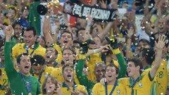 Самба, радост и футбол по бразилски. Позабравени гледки, но ако този отбор на селесао продължава така, може да станат обичайни и на световното догодина.