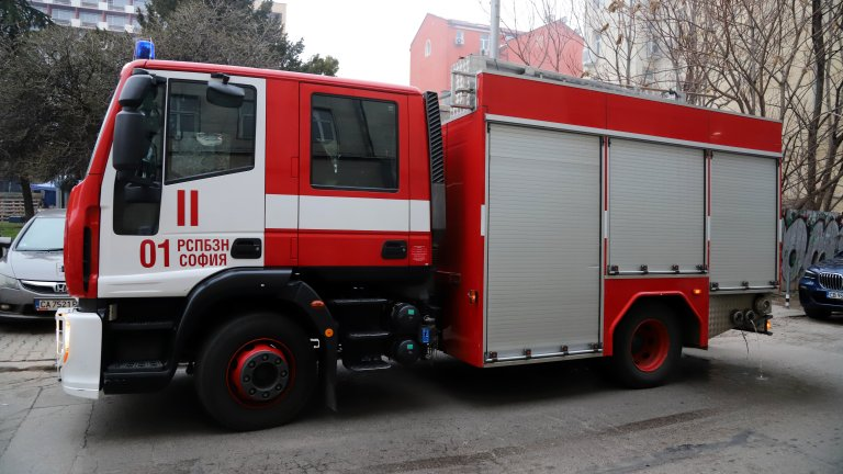 Пожар в софийски хотел, няма жертви