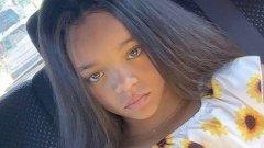 Не, това не е Риана като малка. Нито опит на певицата да се подмлади с FaceApp. Това всъщност е 7-годишна двойничка на звездата на име Ала Бейтопс.