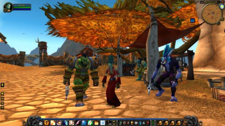 """World of Warcraft Classic  PC 27 август  Можете ли да си представите свят без World of Warcraft Classic? 15 години след премиерата на масовата игра е трудно да мислим за модерния гейминг без всепоглъщащата мания по хита, който плени милиони. А с появата на World of Warcraft Classic ще имаме възможността да изпитаме отново първите плахи стъпки в света на този комерсиален титан. World of Warcraft Classic ни връща към играта такава, каквато съществуваше през 2006 г. - две години след премиерата си и непосредствено преди появата на първия експанжън The Burning Crusade. Трудни врагове, безлюдни зони и повече циклене в трупане на нива - това са само част от особеностите на """"онази"""" версия. Но ако ви звучи отблъскващо, значи навярно не си спомняте неподправения чар на ранните години и обещанието за нещо грандиозно. Е, скоро ще може да го изживеете отново."""