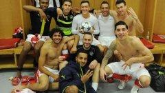 Какво разкри снимката на Арсенал след разгрома над Лудогорец