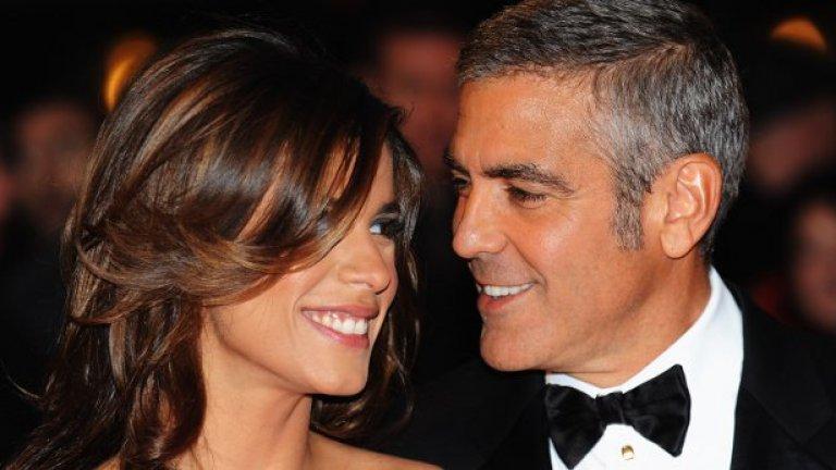 Предположенията, че Клуни е гей се появиха първо в Италия. Веднага след като Каналис се върна в страната си, тръгнаха слухове, че актьорът й е плащал, за да се прави на негова половинка