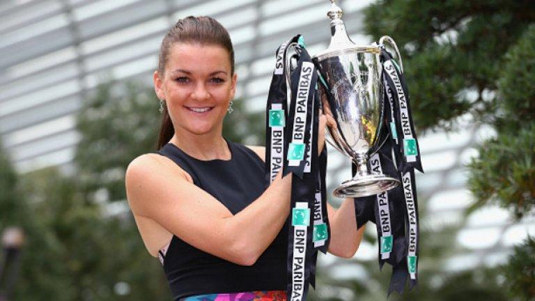 4. Агнешка Радванска – с много силен финал на сезона, Радванска си заслужи четвъртата позиция в тази класация.