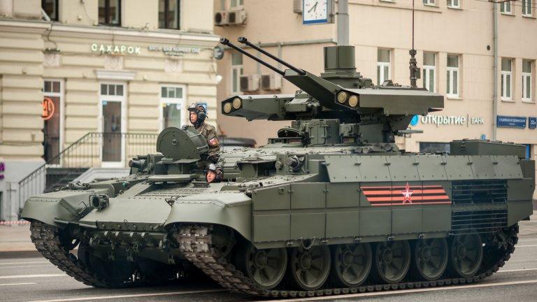 Руската държавна телевизия показа на 2 декември няколко БМПТ машини, присъединени към 90-а танкова дивизия в Челябинска област на Урал.