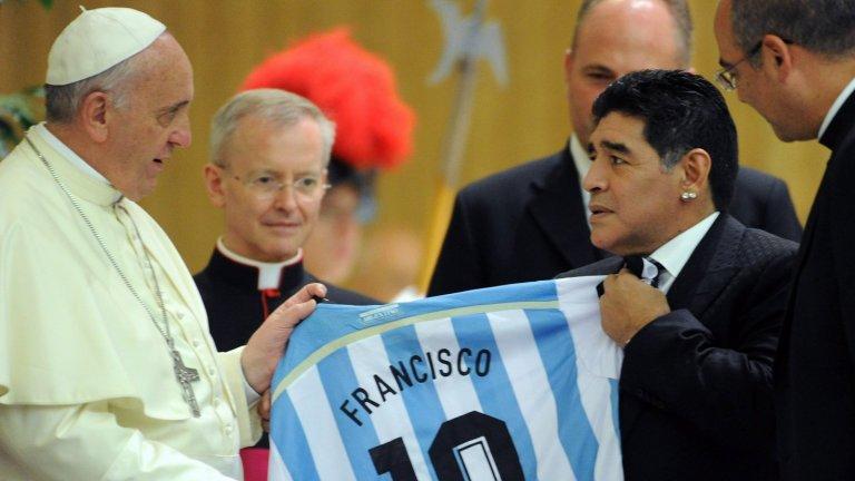 Папа Франциск е огромен почитател на футбола