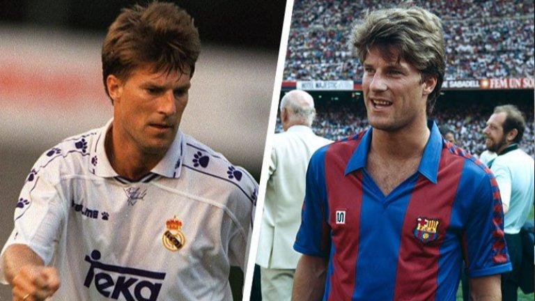 Най-големият датски футболист в историята прекара пет години в Барселона и две в Реал Мадрид, за да стане любимец на феновете и на двата гранда