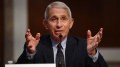 Вашингтон заявява, че се опасява от твърде многото случаи, в които Фаучи е сбъркал за COVID-19