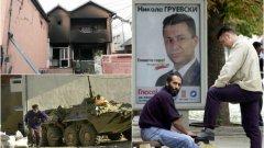 """Националист и популист, Груевски прослави """"най-героичната"""" и """"патриотична акция на полицията"""" досега и намери повод да обяви извънредно положение, с което да осуети планирания национален протест на опозицията на 17 май."""