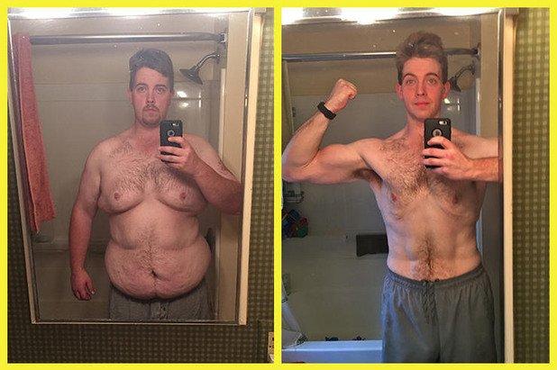 """1. Бен Уолън, 30 години, отслабва 74 килограма за 9 месеца. Тайната му е, че е използвал специално приложение на телефона си, което му е помагало да изчислява калориите във всяка храна. MyPlate Calorie Tracker е безплатно, но има и много други, създадени на същия принцип. Благодарение на него мотивацията му за здравословно хранене никога не намалявала: """"Една нощ се събудих и имах чувството, че съм способен да убия човек за макарони със сирене. Когато обаче изчислих, че ще погълна 500 калории, веднага се отказах."""""""