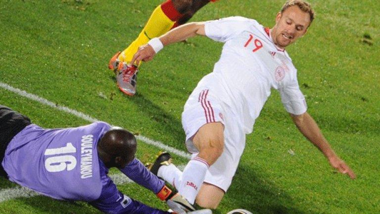 И на 33, Денис Ромедал продължава да е ключов футболист за Дания