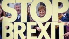Битката на първия министър Никола Стърджън за оставане в Европейския съюз - тя не просто иска референдум за отделяне на Шотландия от Великобритания, но и да го спечели.