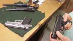 Общо 358 хил. са всички регистрирани огнестрелни оръжия в България
