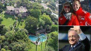Шумахер вече не е в Швейцария, бил е преместен в 30-милионна вила в Майорка, притежавана от Флорентино Перес