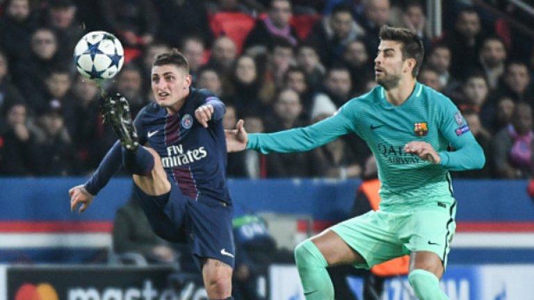 Марко Верати  Халфът на ПСЖ е играч, който би се вписал отлично в полузащитна тройка зад страховитите нападатели на Барса. Той работи много в двете фази на играта, умее да дриблира и да изнася топката, изключително борбен е и обича да показва техника на малко пространство. Всъщност след паметната победа на ПСЖ с 4:0 над Барселона в Шампионската лига миналия сезон, Блез Матюиди разказа, че самият Иниеста се съгласил, че Верати е неговият наследник. За интерес на каталунците към италианеца се говори отдавна и макар че договорът му е до 2021 г., не изглежда невъзможно от Пари Сен Жермен да се съгласят да го продадат.