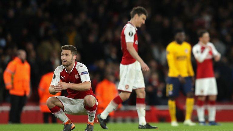 """Арсенал отпадна от Атлетико типично по арсеналски, особено предвид начина, по който се разви първият мач. Такива отпадания се превърнаха в нещо типично за ерата """"Венгер"""""""
