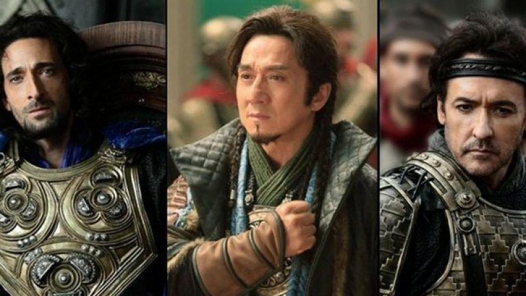 Пълен със сражения, песни и танци на бойното поле, Dragon Blade е най-скъпият китайски филм в историята