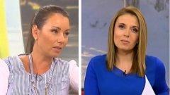 """Водещата на """"Събуди се"""" по Нова телевизия Мирослава Иванова (д), както и репортерът Галя Щърбева слизат от ефир, заедно с още няколко журналисти"""