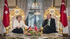 Меркел знае много добре, че Ердоган никога не се е впечатлявал от предупрежденията на Европа.  Още по-малко ще се впечатли сега, когато Европа е в позиция да го моли за помощ.