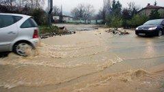 Жълт код за проливни дъждове е валиден за девет български области