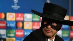 Много неща сме виждали, но Зоро в Шампионската лига... (ВИДЕО)