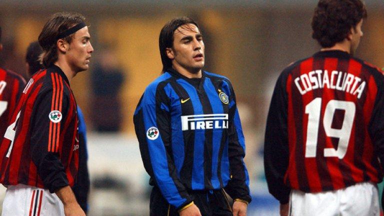 """Фабио Канаваро от Интер (2002-2004 г.) в Ювентус, 10 млн. евро Със сигурност, един от най-великите бранители на Италия (и със """"Златна топка""""!). С играта си в Ювентус, """"скуадра адзура"""" и Реал (Мадрид) Канаваро показа на хората в Интер колко грешни са били в преценката си за него."""
