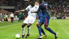 Марио Балотели вкара гола за Ница.