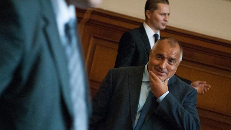 """Лидерът на ГЕРБ Бойко Борисов: """"Атака"""" държи златната акция на този кабинет"""