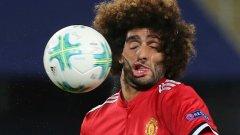 """Маруан Фелайни е корав пич - няма спор. Но все пак една от срещите на главата му с топката по време на финала за Суперкупата на УЕФА с Реал Мадрид в Скопие през август бе доста неприятна. Неприятен бе и резултатът за """"червените дяволи"""", които след 1:2 гледаха как """"кралете"""" вдигат поредната си купа през сезона. А вие разгледайте галерията."""