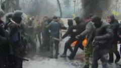 Полицията е използвала гумени куршуми срещу протестиращите