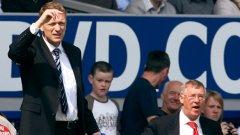 Дейвид Мойс ще мине на преден план след като Алекс Фъргюсън го избра за свой наследник в Юнайтед