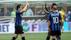 Уесли Снайдер и Диего Милито са със запазено място в идеалния отбор на сезона