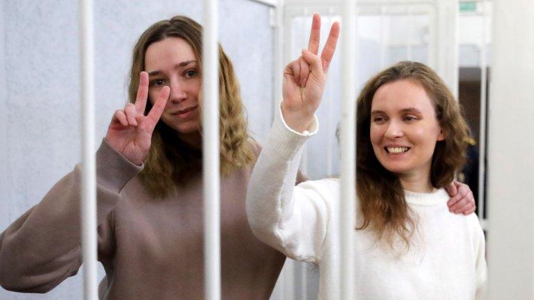 За 6 месеца протести в Беларус са задържани над 400 журналисти