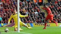 Стъридж донесе победата на Ливърпул на старта на сезона във Висшата лига