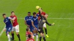 Ощетен ли беше Манчестър Юнайтед в тази ситуация и имаше ли нарушение срещу Давид де Хеа?