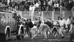 """Печалният мач на """"Максимир"""" е на 13 май 1990-а."""