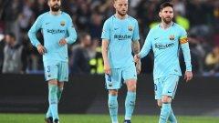 """Барселона игра безумно и заслужено отпада. Къде се изгубиха каталунците на """"Олимпико"""" и с какво Рома ги изненада четете в изводите от мача"""