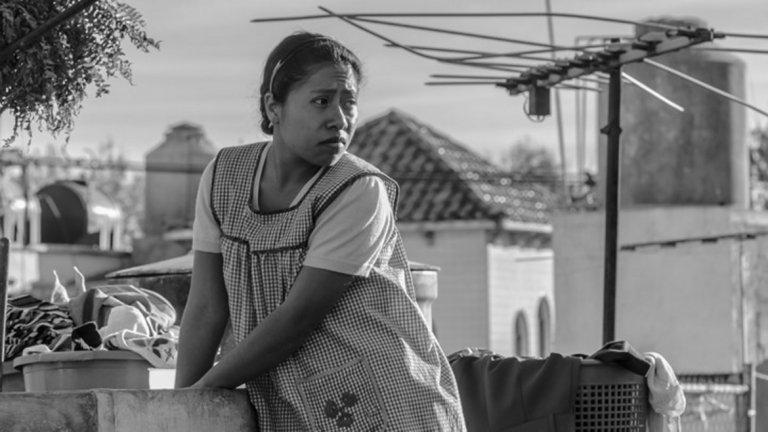 """Фаворит за най-добър филм: """"Рома""""  Чернобелият филм на Алфонсо Куарон е безспорен фаворит за спечелване на най-важната награда за вечерта, а далеч по-ниски са очакванията за успех на втория с по-големи шансове - """"Green Book"""". Най-малко вероятен за победител според букмейкърите е """"Vice""""."""
