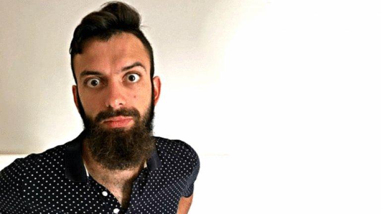 Виктор Атанасов. Технолог в Столично предприятие за третиране на отпадъци. Не си спомня защо, кога и как е пуснал брада, било е отдавна и предполага, че се е случило от мързел. Днес смята, че тя го подмладява и не би я махнал.