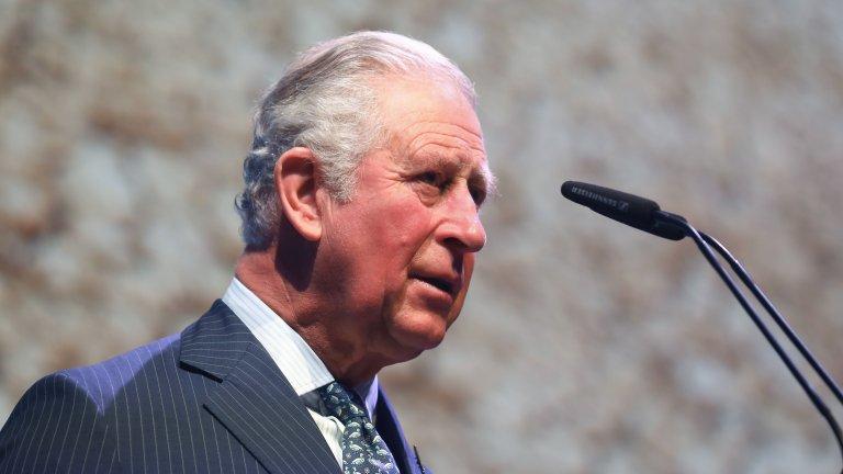 Принцът изпитва леки симптоми на заболяването, но иначе се намира в добро общо здраве