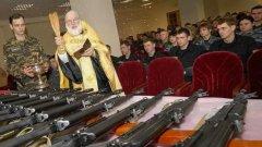Връзката между духовенството и протестния дух от времето на Перестройката отдавна е скъсана