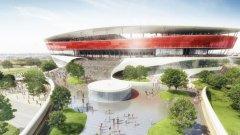 Стадионът в Брюксел още не е построен, но до 2019-а това ще бъде факт. На него ще има ще 3 двубоя от груповата фаза и един от 1/16 – финалите.