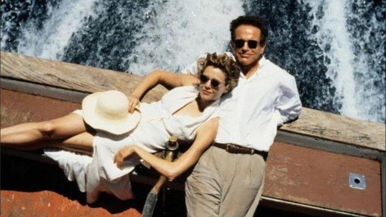 """Уорън Бийти и Анет Бенинг  След като се срещат на снимачната площадка на """"Бъгси"""" (Bugsy) през 1991 г., Уорън Бийти и Анет Бенинг се влюбват и малко по-късно - през 1994 г. снимат """"Любовна афера"""" (Love Affair). След четири деца и десетилетия заедно двамата доказват, че любовта в Холивуд не винаги е краткотрайна. Или поне така изглежда отстрани.  В """"Любовна афера"""" бившата футболна звезда Майк Гамбрил се среща с Тери Маккей при полет до Сидни. Налага се самолетът им да кацне непредвидено на малък остров  и кораб е изпратен да прибере пътниците. Двамата главни герои, изиграни от Бийти и Бенинг, си имат други половинки, но островната красота и плаването с кораб са идеална предпоставка за започване на романтична връзка. Как да устоиш?! По-важното е дали любовта може да продължи и след края на пътуването."""