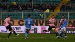 Палермо победи Наполи с 3:1 дома
