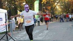Атрактивен участник на събитието Sofia Evening Run от октомври миналата година